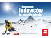 Darmowe Skipassy na 5 największych lodowców w Tyrolu