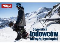 Hintertux – dostępny dla narciarzy cały rok