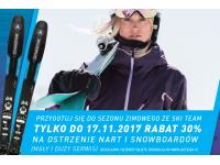 Przygotuj się do zimy ze Ski Team