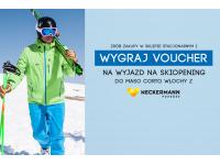Wygraj podwójny voucher na wyjazd na Skiopening do Maso Corto Włochy (10-17.12.2017) z Neckermann Podróże.